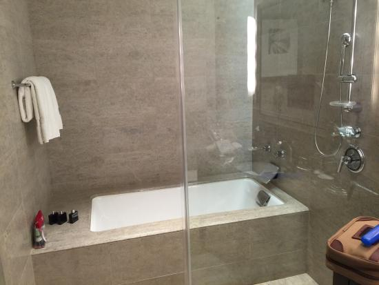 Bathtub/shower combo - Picture of Trump International Hotel ...