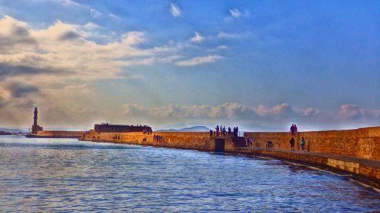 Old Venetian Harbor : Lighthouse
