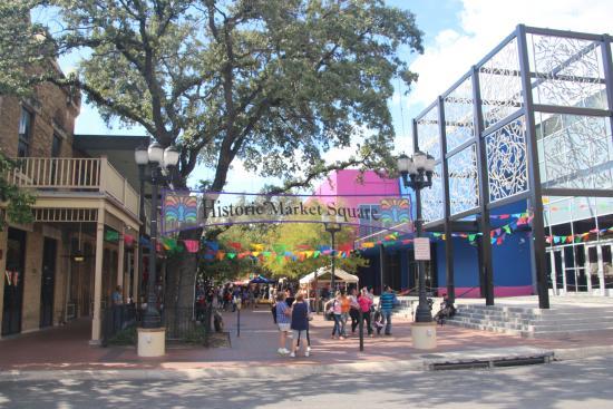 San Antonio Market Square Entrance Picture Of San