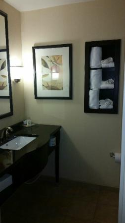 Holiday Inn Hotel & Suites - North: Bathroom and towels