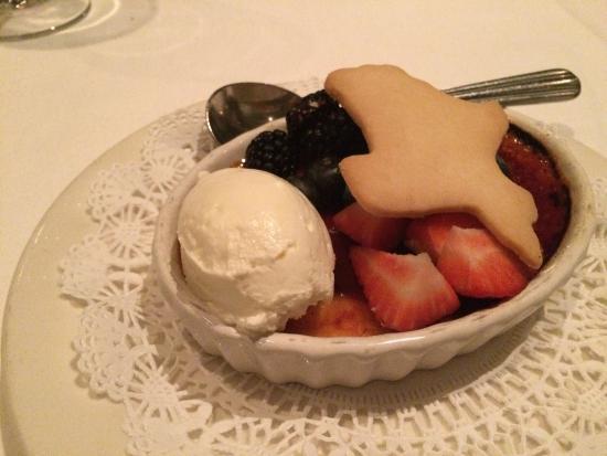 Republic of Texas Bar & Grill: Cream bulee