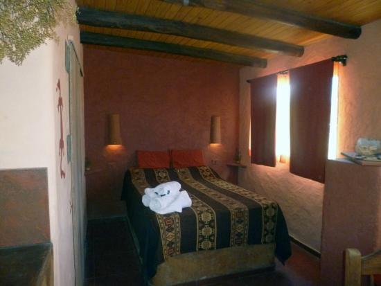 Mamuna: Dormitorio de la cabaña