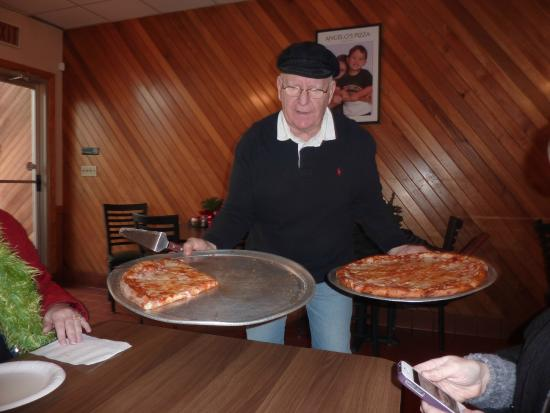 Burgh Bits and Bites Food Tours: Richard Serving Pizza