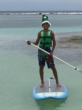 Surfinggreen: having fun