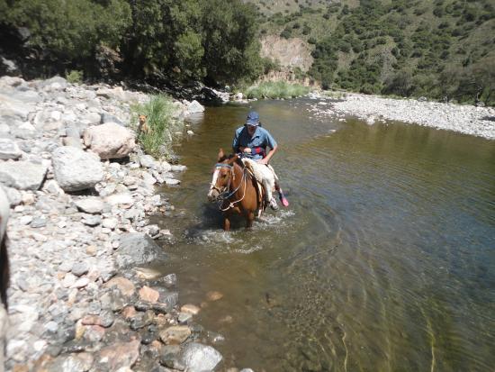 Paso del Condor : cabalgata con Ramon
