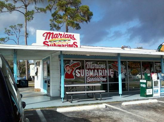 Marian's Sub Shop : You won't be disappointed!