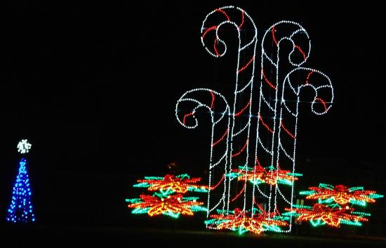 Reminds me of the Festival of Lights at Wheelings Oglebay park ...