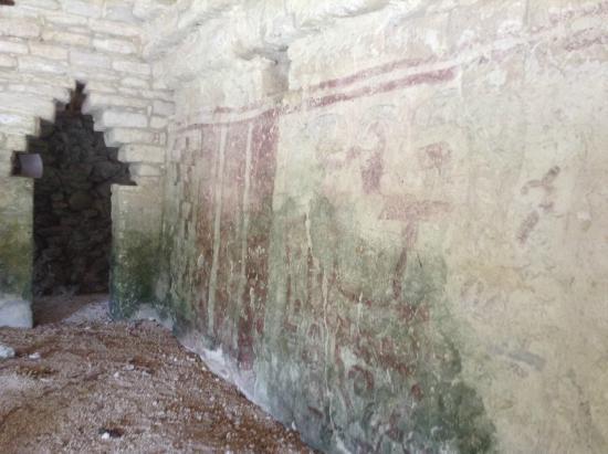 """Xel-Ha: """"Edificio de los Pájaros"""", La ciudad maya de Xel Ha."""