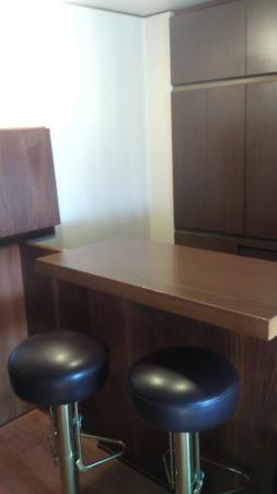 Grand Hotel Elite : tavolino dek cucinino