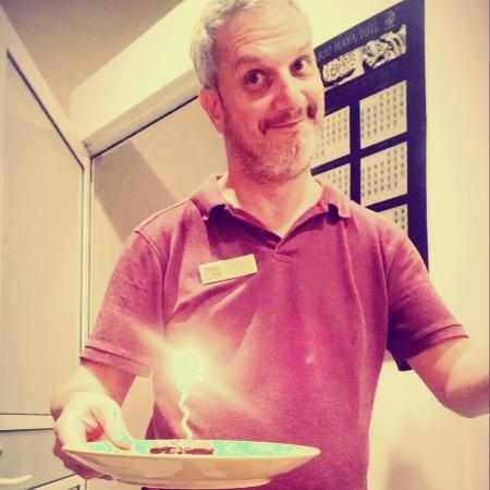 Mis 42 años, celebrados en Coffee Stop!! Gracias Paul