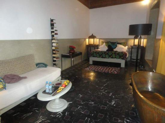 Riad Due: our suite