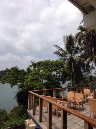 Tamarind Mombasa: Terrace