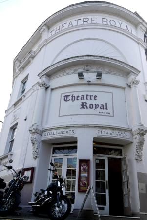Theatre Royal: The entrance