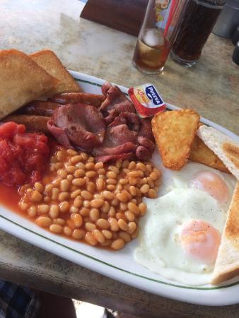 Tekkers Family Bar & Restaurant : Tekkers breakfast