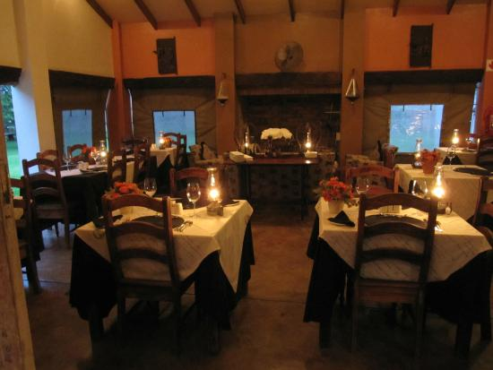 Kwalala Lodge: Speisesaal