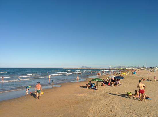 Hotel Principal: Estas es una foto de la playa que la verdad es muy buena.