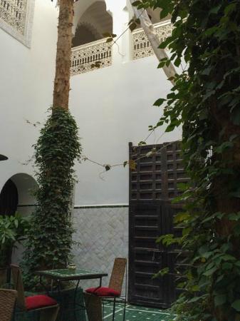 Riad Vert Marrakech: Dining area