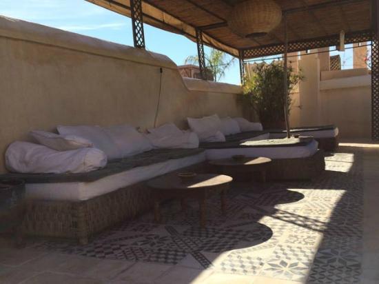 Riad Vert Marrakech: Roof terrace