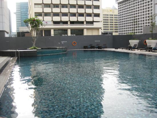 Lovely Swimming Pool Good For Doing Laps Picture Of Orchard Hotel Singapore Singapore