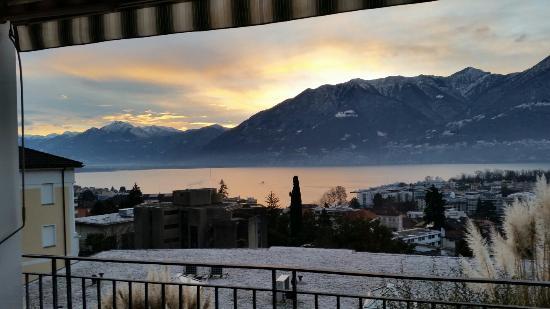 Hotel Belvedere Locarno: Blick aus dem Zimmer ��
