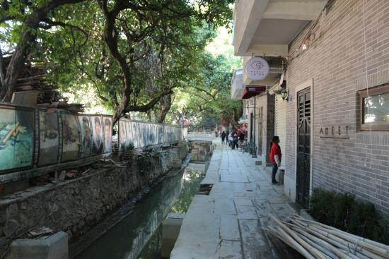 Xiaozhou Village Canal area