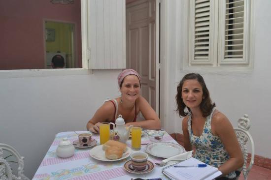 La Casa Rosada : Desayunando!