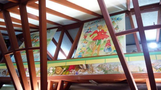 Osteria del Gambero Rosso: soppalco