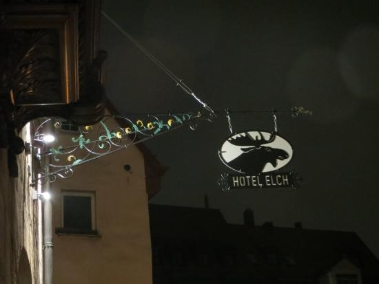 Hotel Elch: Front of hotel