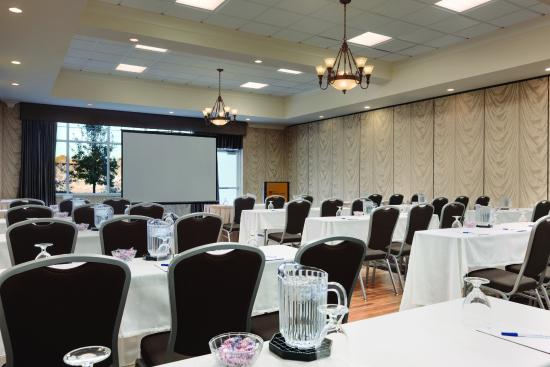 Hilton Garden Inn Auburn Riverwatch: Our Canal Room- for small meetings and gatherings