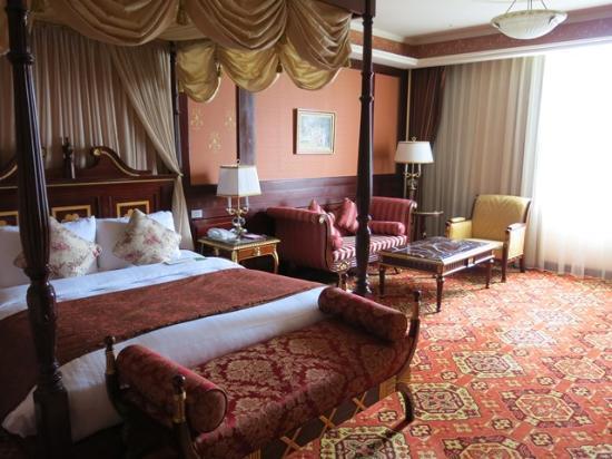 Capital Hotel Dazhi : ヨーロッパ調の豪華な室内