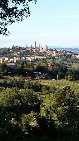 Villa Baciolo : Vista dalla camera