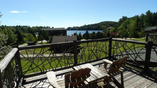 Ampersand Bay Resort & Boat Club: View of Property from the Birch Townhomes