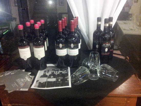 Locanda Casa Motta: degustazione vini