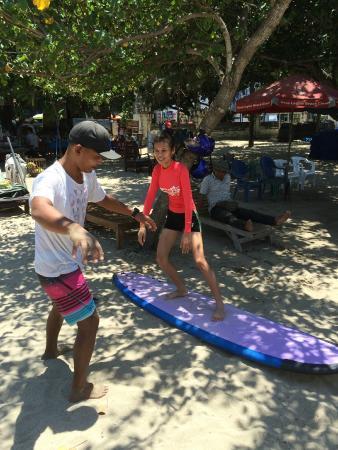 EP's Bali Surf: Edwin teaching On