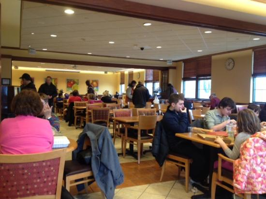 Cafe at Wegmans: Dining room upstairs