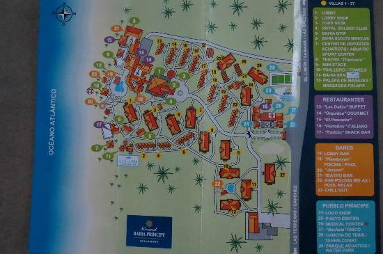 map a jour Picture of Grand Bahia Principe El Portillo Las