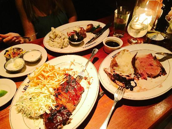 J Alexander's Restaurant: Dinners for three. Delis!