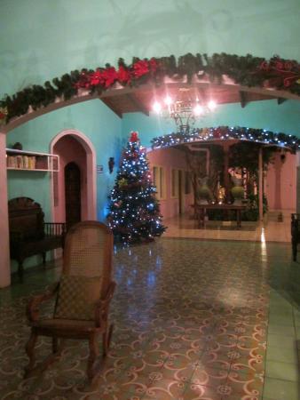 Hotel Kekoldi Granada : Reception when we arrived