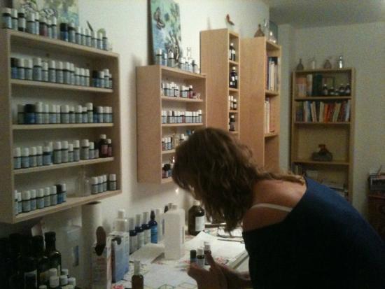 Aromapraxis und Duftatelier