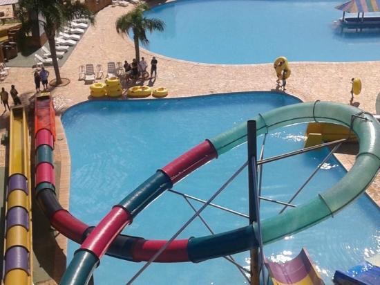 Viamão, RS: vista das piscinas