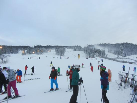 Radisson Blu Resort, Trysil: Part of the ski slopes