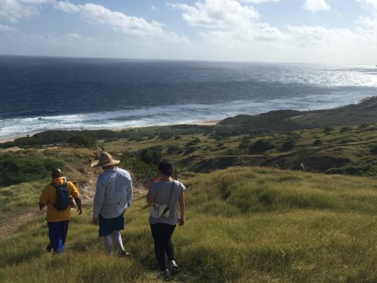 Eco Adventures Barbados - Day Tours : Chalky Mount Hike Down