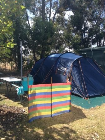 RAC Busselton Holiday Park: Spacious Pitch