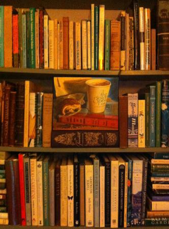 Jumel Terrace Bed and Breakfast: The Garden room's horticulture library