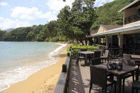The Fish Pot at The Blue Waters Inn: View from Restaurant