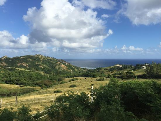 Eco Adventures Barbados - Day Tours : Beautiful views Chalky Mount