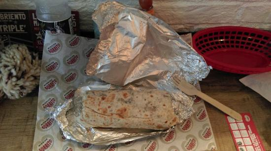 Mission Burrito: Expertly wrapped fast food.