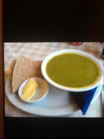 Birsay Bay Tearoom: pea and mint soup heaven!