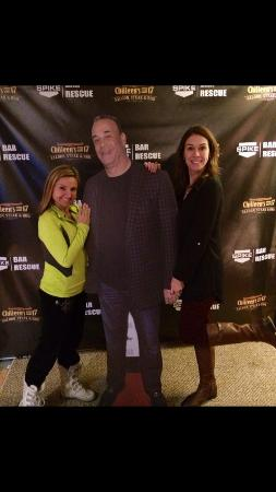 Chilleen's on 17: Our pic w the a life size John Taffer