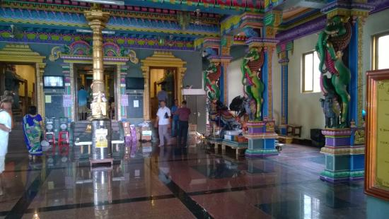 Bel Ombre, Seyşeller: Tempio Indu di Victoria